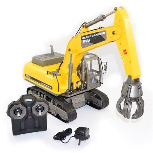 Hobby Engine Premium Label Digital 2.4G Crane Grabber HE0718