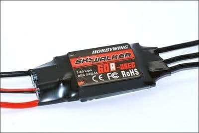 Hobbywing Skywalker 60A Ubec Speed Control HW30216100