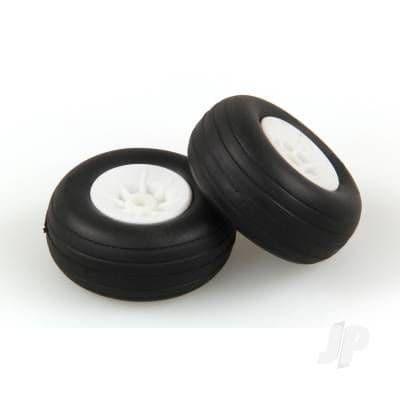 JP 1.1/2in - (37mm) White Wheels (2) 5507109