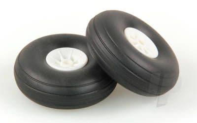 JP 2.0in - (50mm) White Wheels (2) 5507111