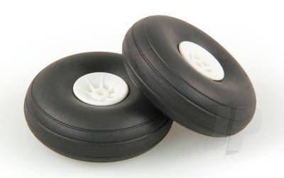 JP 2.1/4in - (56mm) White Wheels (2) 5507112