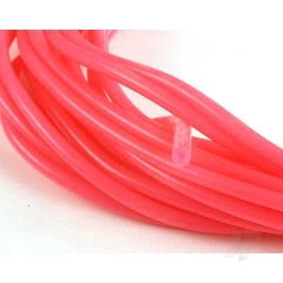 JP 2mm (3/32) Silicone Fuel Tube Neon Pink 10m 5508547