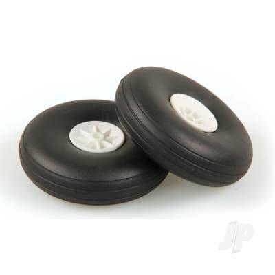 JP 3.0in - (75mm) White Wheels (2) 5507115