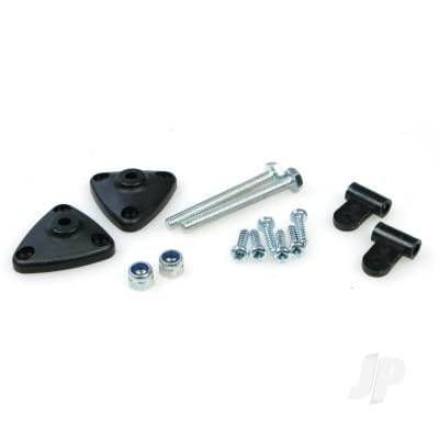 JP Adjustable Aileron Horn Surface Mount (2x10) JPD5508023