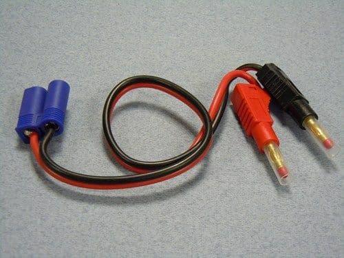 LogicRC Charge Lead : 4mm~EC5 O-LGL-CLEC5