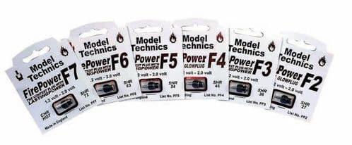 Model Technics Firepower F6 (Warm) RC Model Glow Plug