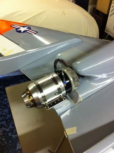 ModellbauUK Falcon 120 Turbine Mount