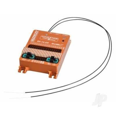 Multiplex WINGSTABI 16-channel 3-axis Gyro Dual-Rx, 35A battery backer (55017) MPX55017