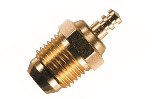 O.S. Engine Glowplug Speed RP6 Gold L-OS71642740