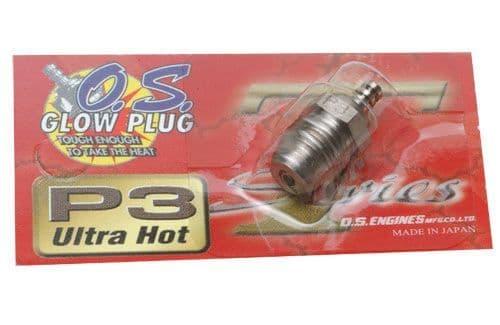 O.S. Engine Glowplug Type P3 (Ultra Hot) L-OS71641300