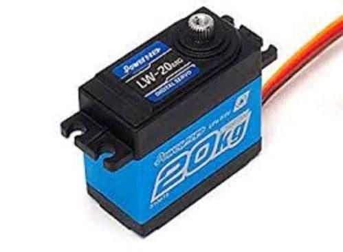 PowerHD Servo HD LW-20MG Digital Waterproof (20.0KG/0.16SEC)