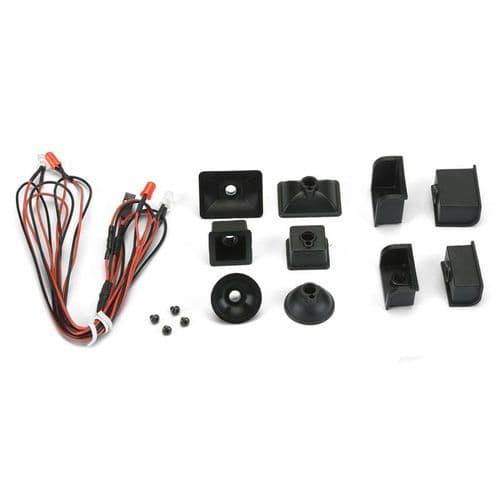 Proline Universal Led Head Light & Tail Light Kit Crawler PL6317-00
