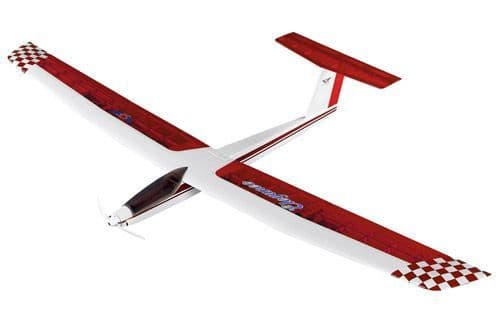 Super Flying Models Super Flying Model Hawk T-Tail Ep Glider Artf