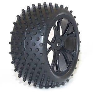Vantage Rear Buggy Tyre Mounted On Wheels (Pr) - Black FTX6301B
