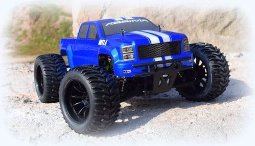 "Absima 1:10 EP Monster Truck ""AMT3.4BL"" 4WD Brushless 12244"