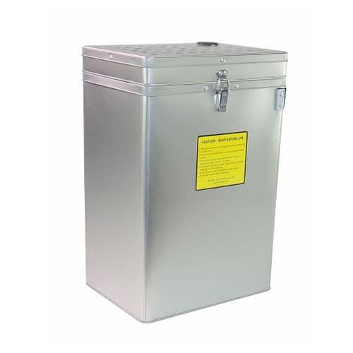 Bat-Safe XL Silver LiPo Charging Safe Box BSX-1-S