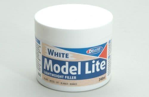 Deluxe Materials Model Lite Lightwght Filler White - 240ml S-SE32