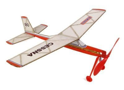 DPR Cessna 180 (Rubber Powered) DPR1005