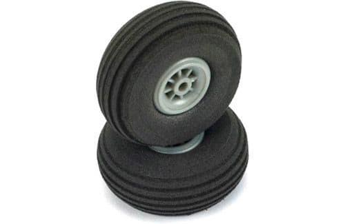"Dubro 1-3/4"" (45mm) Super Lite Wheels (Pair)"