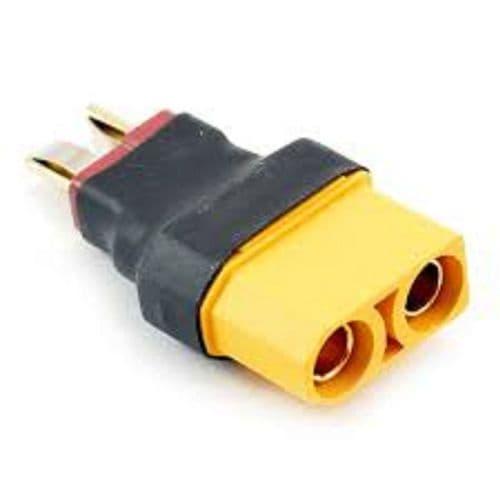 Etronix Female XT90 to Male Deans Adaptor Plug ET0856