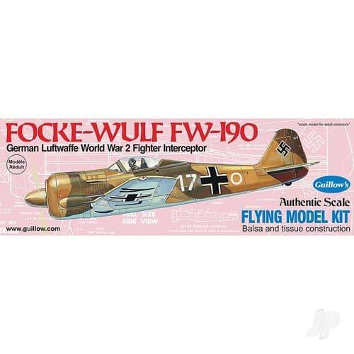 Guillow's Focke-Wulf FW-190 Balsa & Tissue Kit  GUI502