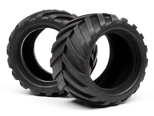 HPI Racing Bullet Mt Tyres (2pcs) #101307