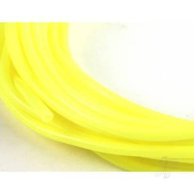 JP 2mm (3/32) Silicone Fuel Tube Neon Yellow 1m 5508545