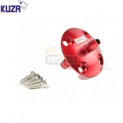 Kuza Anodized Large Scale CNC Fuel Vent Line Plug (Red) KAG0232R