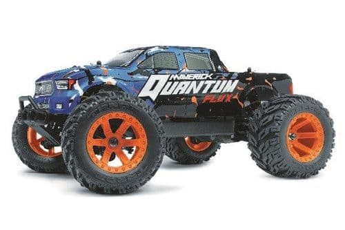 Maverick Quantum MT Flux 1/10 4WD Brushless Blue Monster Trk (2.4Ghz) MV150200