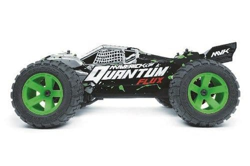 Maverick Quantum XT Flux 1/10 4WD Brushless Silver (2.4Ghz) MV150206