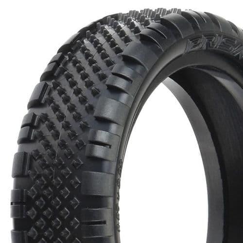 """Proline 'Prism' 2.2"""" 2Wd Z3 (Med. Carpet) Front Tyres PL8278-103"""