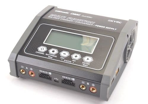 SKY RC D260 Dual Channel AC/DC Battery Charger SK-100157