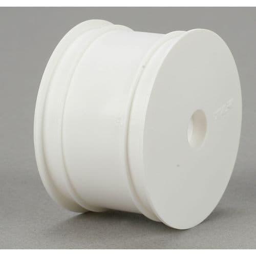 TLR Rear Wheel, White (2): 22 G-TLR7100