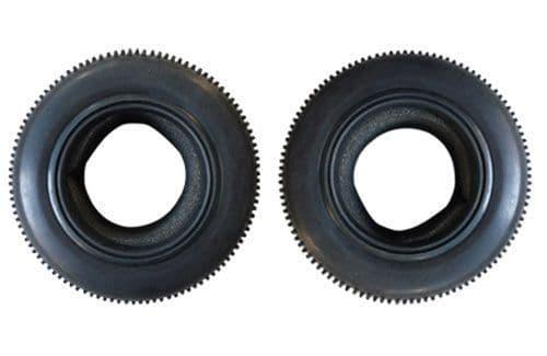 Truggy Tyres w/foams (2pcs) - RAZ-R Z-DHK8132-006