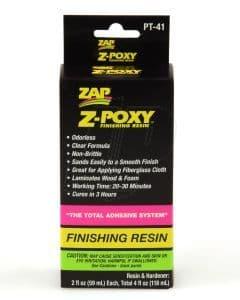 Zap PT-41 Z-Poxy Finishing Resin 4oz 5525788 PT41