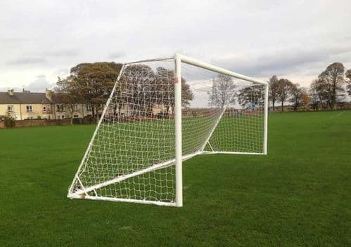21' X 7'  Aluminium Roller Goal :: ALUMINIUM ROLLER GOALS 21'x7' :: GOALPOSTS FOR USE ON ARTIFICIAL GRASS