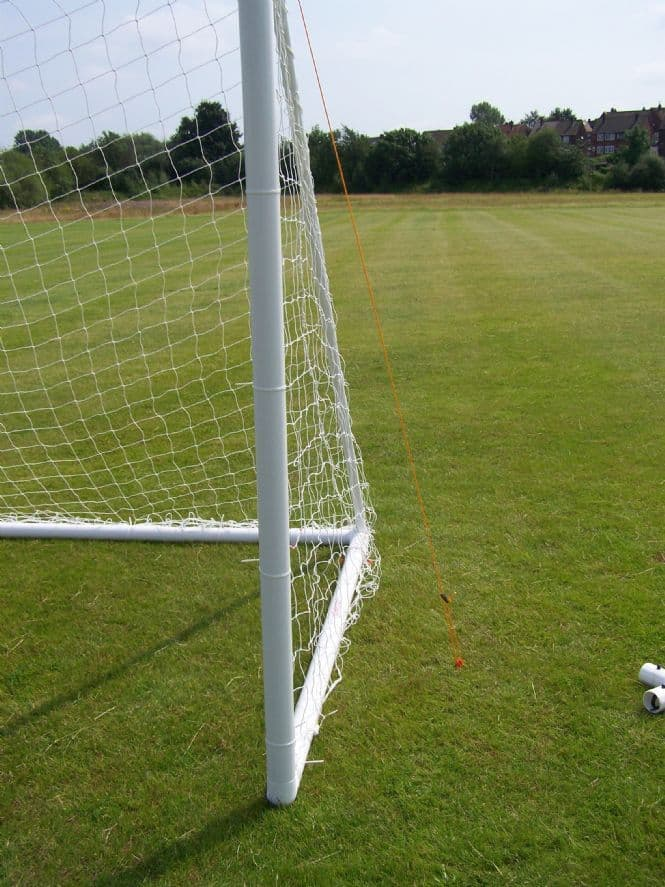 Football Goal - upright post support ties