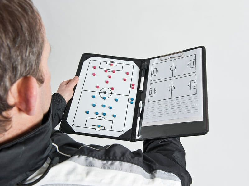 PT Pro Soccer Coaches Tactic Folder